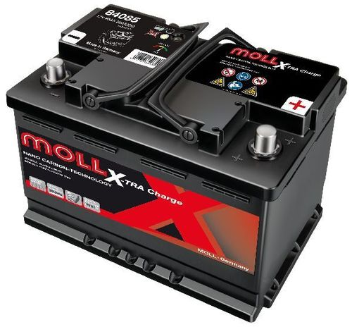 Starterbattterie MOLL X-TRA Charge 12V 85Ah - 800A
