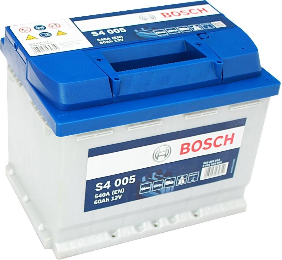 starterbatterie s4 bosch 12v 60ah 540a autobatterien. Black Bedroom Furniture Sets. Home Design Ideas