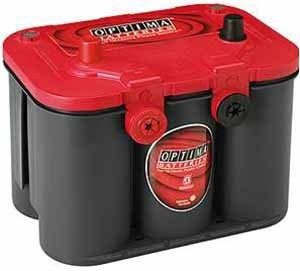 Autobatterie Optima - Red Top RT U 4.2 12V 50Ah