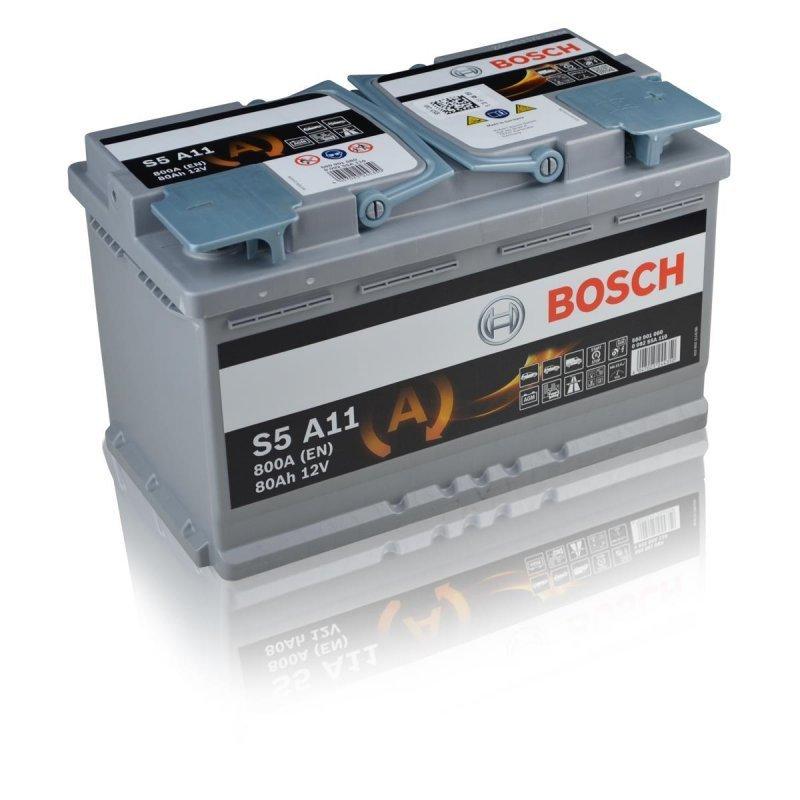 bosch s5 a11 agm 12v 80ah 800a autobatterien g. Black Bedroom Furniture Sets. Home Design Ideas