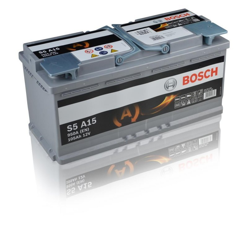 bosch s5 a15 agm 12v 105ah 950a autobatterien g. Black Bedroom Furniture Sets. Home Design Ideas