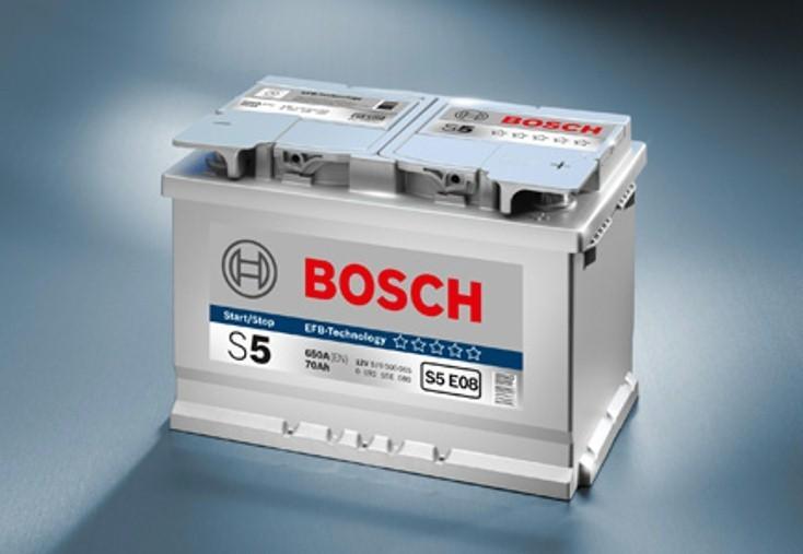 bosch s5 efb batterie 12 v 80 ah autobatterien g. Black Bedroom Furniture Sets. Home Design Ideas