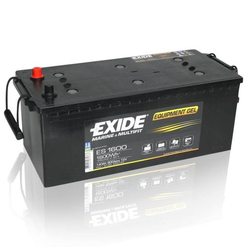 Exide Equipment Gel (Gel G140) 12V 140Ah