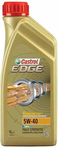 EDGE 5W-40 Titanium Fully synthetic 1L