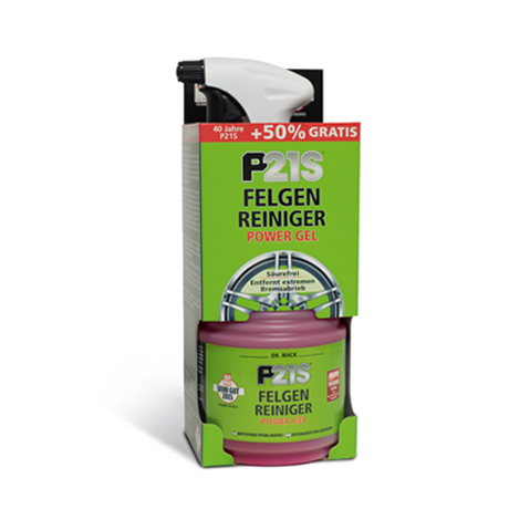 P21S Felgen-Reiniger POWER GEL 750ml